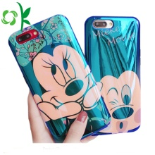 Mikey/Minnie Shape TPU Full-cover Cute Phone Case