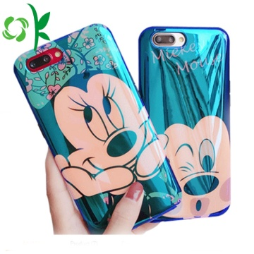 Custodia rigida per cellulare Mikey / Minnie Shape TPU