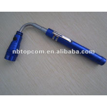 telescopic torch 3 LED flashlight