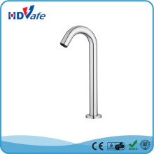 Long Neck Wall Mounted Touchless Automatic Sensor Spout Faucet for Public Bathroom