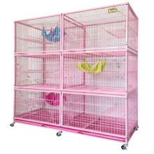 high quality hengshui Three ayers cat cage/pet cage for breeding