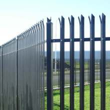 PVC Coated High Security Steel Palisade Fence