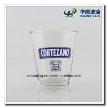 Logo Printing Thick Bottom Empty Glass Candle Holders