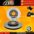 Fournisseur de disques de frein pour frein à disque de haute qualité F5RZ1125A pour rotor de frein FORD SCORPIO