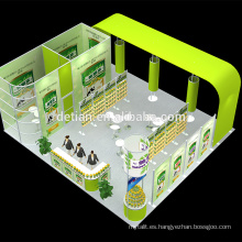 Detian personalizar el stand de exhibición de equipos de feria comercial de cabinas baratas