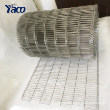 wire mesh belt for conveying biscuits Metal Weave Conveyor Belt Mesh