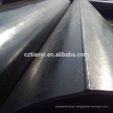 China fornecedor vendas 3pe revestido anti-séptico erw tubo de aço