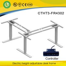 Höhenverstellbare Arbeitsstation Büro-Schreibtisch-Roll-Up-Ständer für Chefschreibtisch