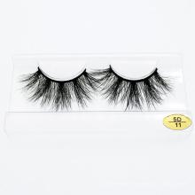 Wholesale Custom Logo Packing Box 3D 5D 25mm Real Mink Fur Luxury Eyelash