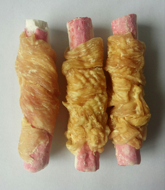 chicken and crab stick for dogs