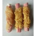 Chicken and crab stick snacks dog treats