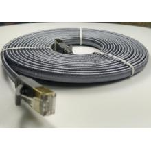 Cat7 Flat Nylon Braided With RJ45 Lan Wire