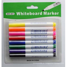 Marcador de quadro branco colorido para artigos de papelaria da escola