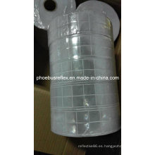 Coser 5cm blanco reflectante Chaleco PVC cinta