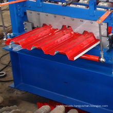 China suppliers new design 750 galvanized floor decking color steel roll forming machine