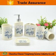 New design elegant ceramic bathroom set wholesale