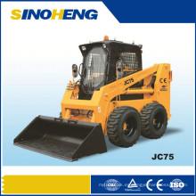 Minicargador de dirección deslizante, mini excavadora con CE Jc75