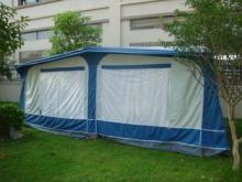 All weather PVC vintage / Travel Trailer Awning for caravan