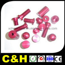 CNC Precision Turning Parts with Anodizing/Sandblasting Aluminum
