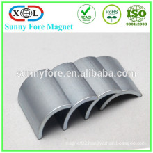 n42 grade rotor shape ndfeb magnet strong
