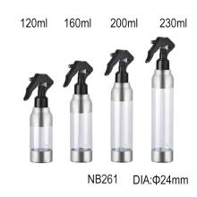Botella de plástico para mascotas con mini pulverizador de gatillo (NB261)