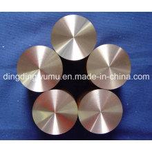 Électrode de disque de cuivre tungstène pour EDM