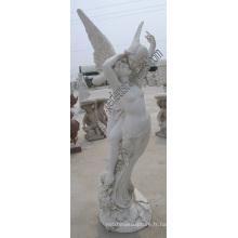 Statues en sculpture sur marbre en pierre pour sculpture sur jardin (SY-X1252)