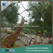 zoo mesh stainless steel rope netting