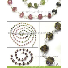 Silver Beaded Chain Gemstone Beaded Chains High-Quality Wholesale beads Supplier