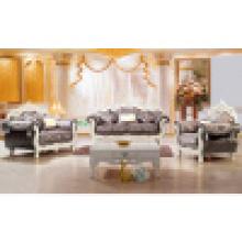 Juego de sofás de madera para muebles de sala (929D)
