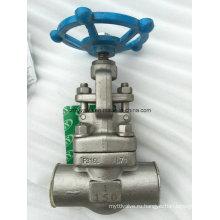 """Кованая сталь F316L 1 """"запорный клапан NPT / Sw 1 литра 150 фунтов (Z61Y-150LB-1)"""