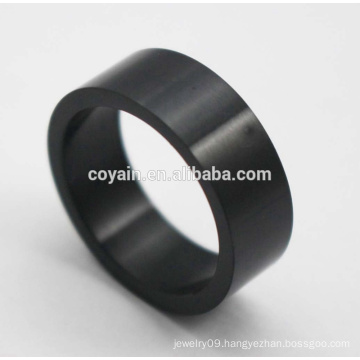 Wholesale Europe American Black Silicone Men's Ring