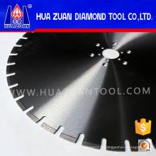Lame de diamant de coupe du béton soudée par laser de 700mm pour le mur