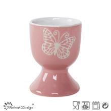 Écran en soie Papillon blanc Petit porte-oeufs