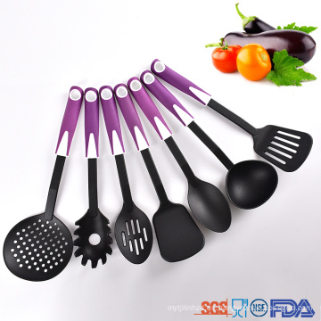 juego de utensilios de cocina de plástico duradero para la cocina del hogar