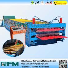 FX automatische Metallformmaschine Beton Dachziegel Maschine