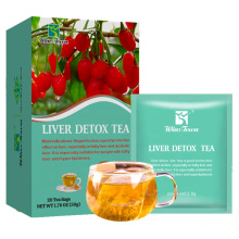 Liver cleansing detox tea Chinese herbal sober up and protect liver tea prevents hepatitis and fatty liver