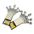 Fashion Gifts Imperial Crown Metal USB Stick