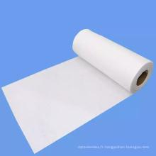 Non-tissé jetable écologique de coton Spunlace de serviettes de table