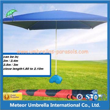 Middle Column Square Beach Outdoor Umbrella