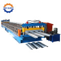 Kekuatan Tinggi Steel Deck Floor Making Machine