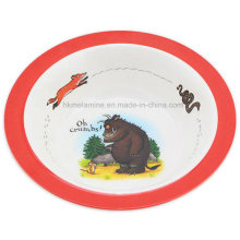 Melamine Kids Soup Bowl with Logo (BW7082)