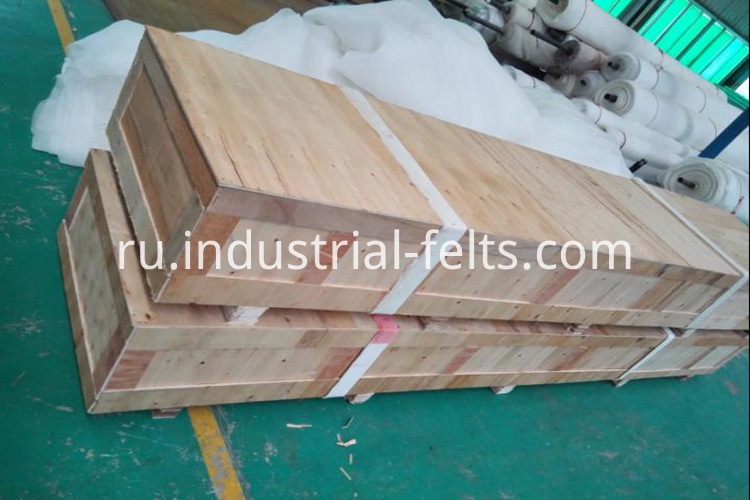 Wooden box of Sludge dewatering belt