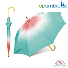 2018 cheap New innovations designer umbrellas wooden Umbrella