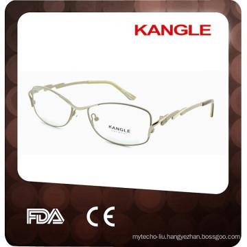 2017 New Lady top eyeshape metal optical frames, hot sale metal eyeglasses