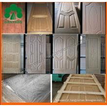 Pele da porta do carvalho / Sapele / Ash HDF