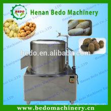 2015 venda quente de aço inoxidável máquina de casca de batata / máquina descascador de batata / máquina de remoção de pele de batata 008613253417552