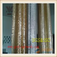 Buntes / dekoratives / Metall- / Kettenglied-Vorhang-Ineinander greifen