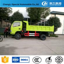Caminhão de descarga personalizado de Dongfeng 4 * 2 mini para a venda
