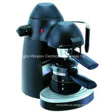 Vapor eléctrico 4 tazas de Espresso y Cappuccino cafetera